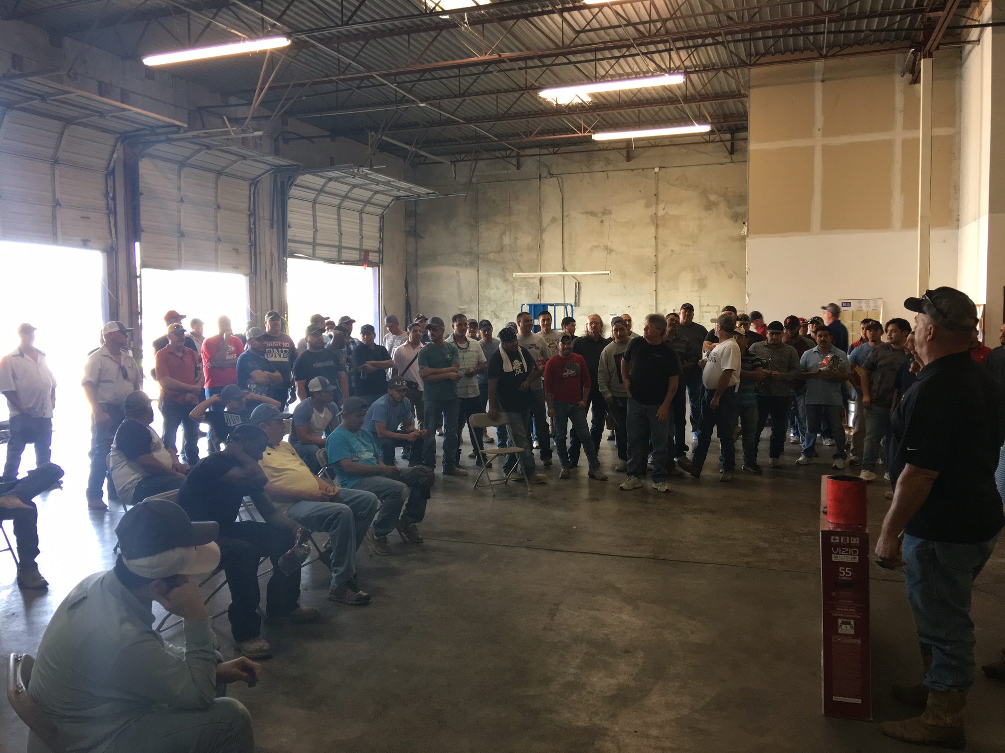 Drywall Interiors Safety Day